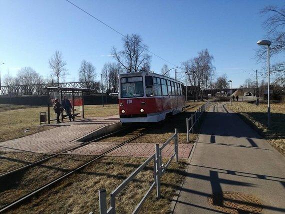 Tomo Marcinkevičiaus nuotr./Senieji tramvajai
