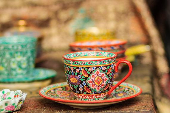 Shutterstock.com nuotr./Tailandietiškas porcelianas