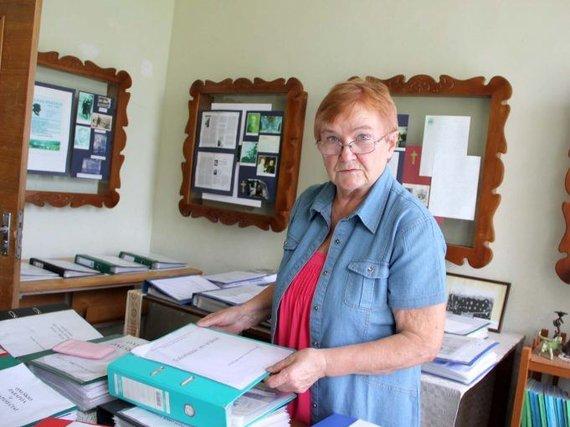 Onuškio ir aplinkinių kaimų istorijų metraštininkė Elena Blažienė