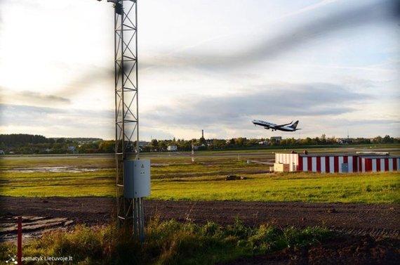 """Pamatyk Lietuvoje"" nuotr./Neoficiali lėktuvų stebėjimo vieta prie VNO"