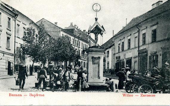 LMAVB arch. nuotr./Koplytėlė Užupyje