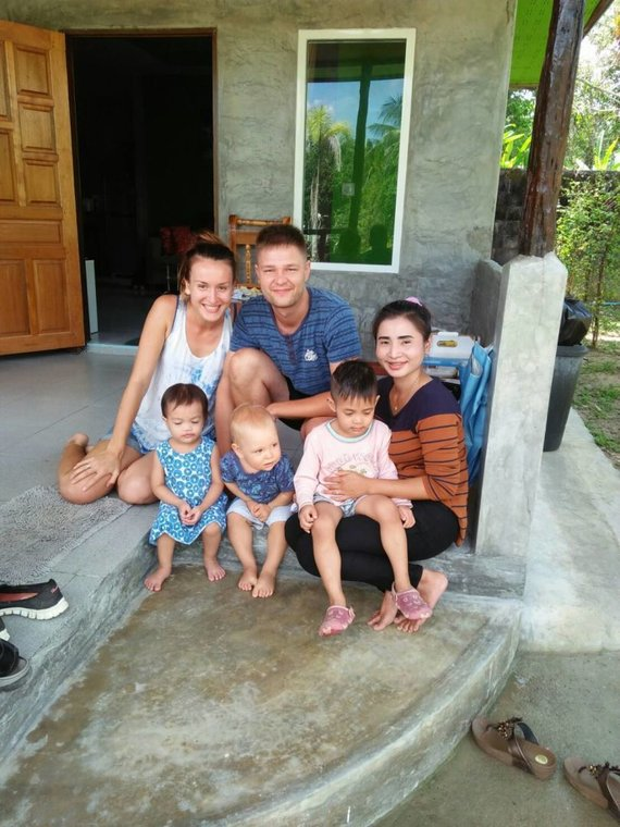 Asm.archyvo nuotr./Su nuomojamo namo šeimininkais Ao Nang, Krabi