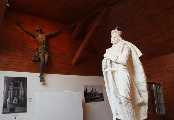 Indrės Bungardaitės/15min nuotr./V.Grybo muziejuje