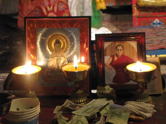 Raimondo Dikčiaus nuotr./Dalai Lama XIV - Tibeto dvasinis vadovas, Gelug sektos galva
