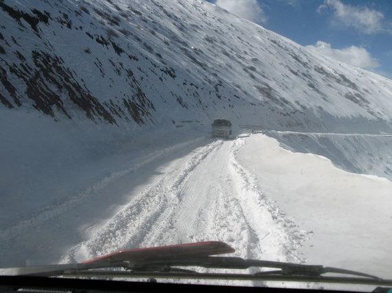 Raimondo Dikčiaus nuotr./Keliones Sniegynų šalyje gali apsunkinti oro sąlygos