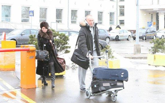 Dariaus Mataičio nuotr./Rimas Kurtinaitis su žmona Sirmante Kurtinaitiene.