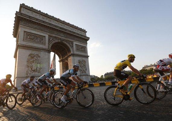 """Reuters""/""Scanpix"" nuotr./Paryžiaus Triumfo arka"