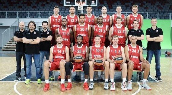 """Euroleague.com nuotr./""""Brose Baskets"""""""