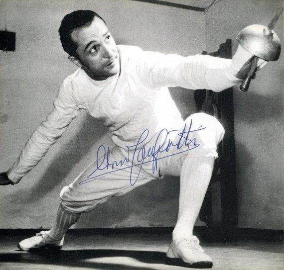 Edoardo Mangiarotti dažnai įvardijamas geriausiu visų laikų fechtuotoju