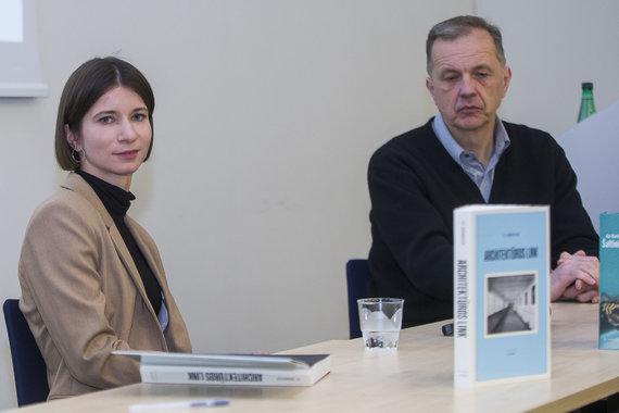"Roko Lukoševičiaus / 15min nuotr./""XX a. manifestas šiandien"": Le Corbusier knygos ""Architektūros link"" pristatymas"