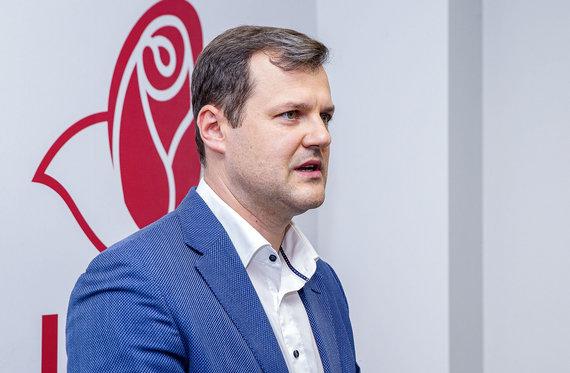 Roko Lukoševičiaus / 15min nuotr./Gintauto Palucko konferencija