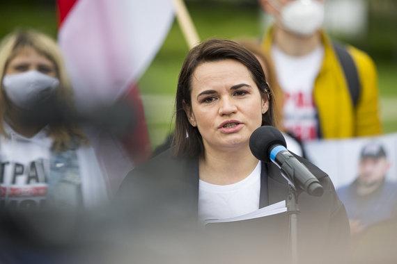 Roko Lukoševičiaus / 15min nuotr./Sviatlana Cichanouskaja