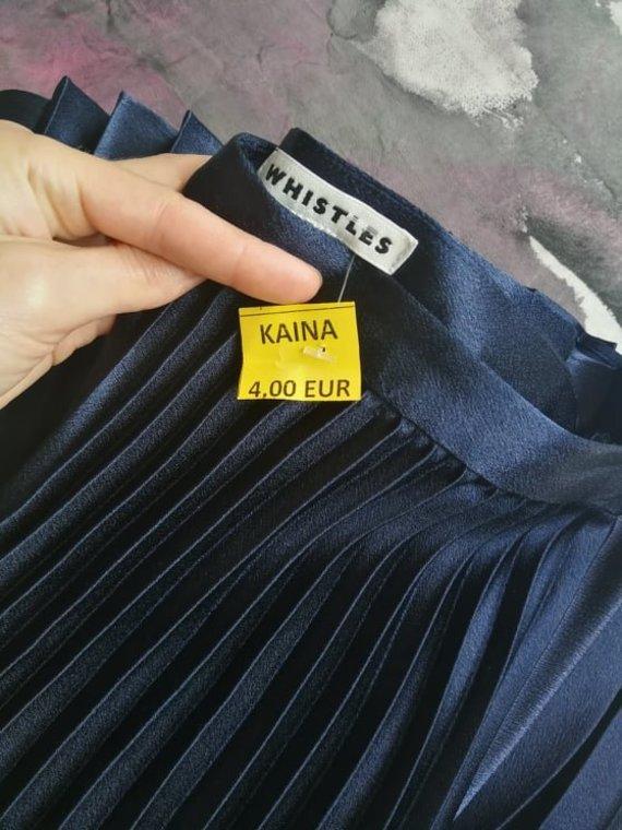 Asmeninio archyvo nuotr. /Nepirkti Whistles sijono už tokią kainą negalėjau