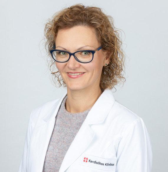 Kardiolitos klinikų nuotr./Gydytoja reumatologė dr. Eglė Tertelienė