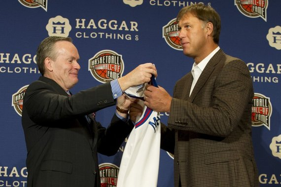 """Reuters""/""Scanpix"" nuotr./Šarūnas Marčiulionis įtrauktas į NBA Šlovės muziejų"