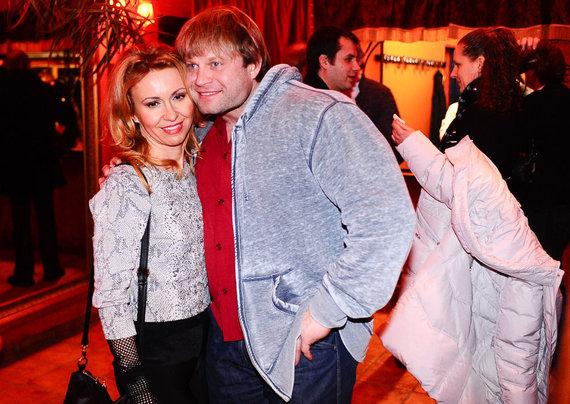 Luko Balandžio nuotr./Dainius Barzinskas su žmona Irina