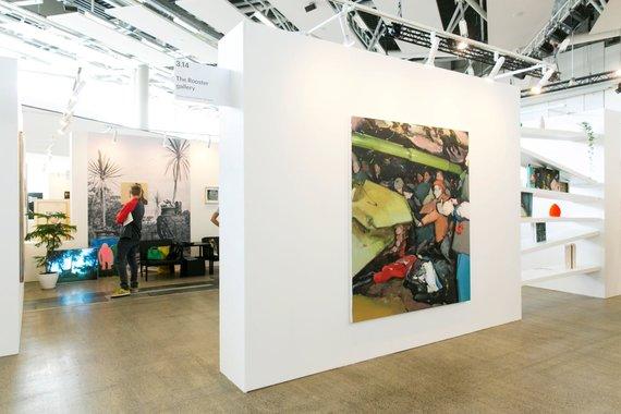 """M.Žičiaus nuotr./""""The Rooster Gallery"""" ekspozicija """"ArtVilnius"""""""