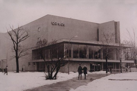"Garsas.lt nuotr./Kino teatras ""Garsas"" sovietmečiu"