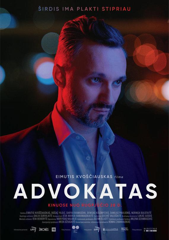 """Filmo """"Advokatas"""" plakatas"""