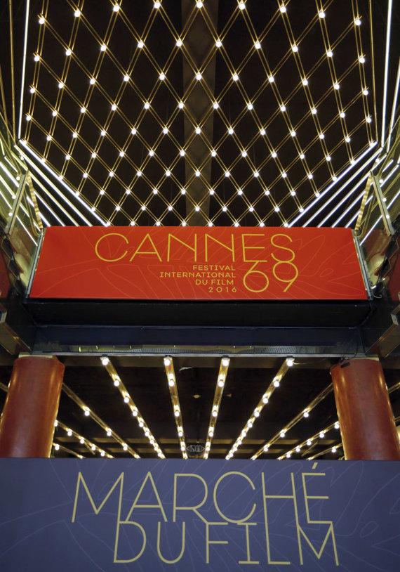 """""""Reuters""""/""""Scanpix"""" nuotr./Kanų kino festivalio mugė"""