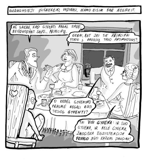 """Miglė Anušauskaitė, """"Dr. Kvadratas. Greimas ir jo semiotika"""". 2"""