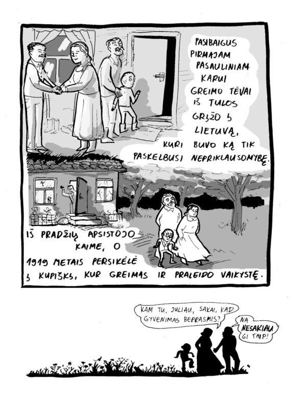 """Miglė Anušauskaitė, """"Dr. Kvadratas. Greimas ir jo semiotika"""". 9"""
