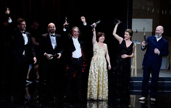 """AFP/""""Scanpix"""" nuotr./Europos kino apdovanojimai"""