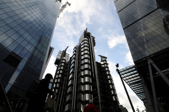 """Reuters""/""Scanpix"" nuotr./""Lloyds of London"" pastatas"