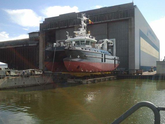 L. Sėlenienės nuotr. /Naujojo Klaipėdos universiteto mokslinio laivo išlaikymas per metus pareikalaus maždaug 1 mln. litų.