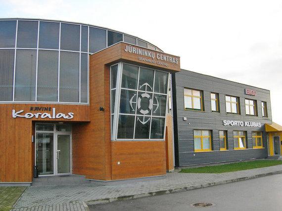 Jūrininkų sąjungos nuotr./Jūrininkų centro pastatas