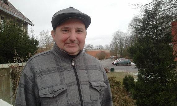 L. Sėlenienės nuotr./Juknaičių seniūnijos žemės ūkio specialistas Vytautas Barkauskas