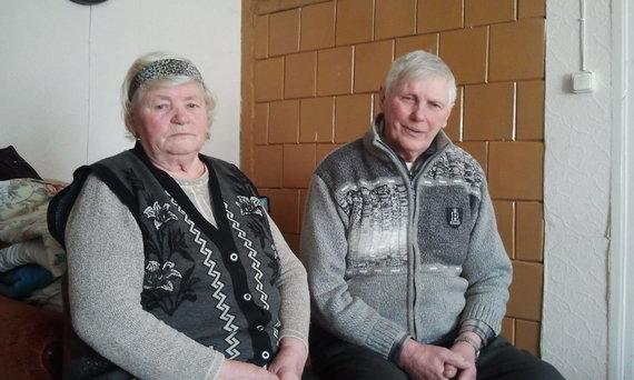 L. Sėlenienės nuotr./Švėšniškiai Rūta ir Bronius Meiliai
