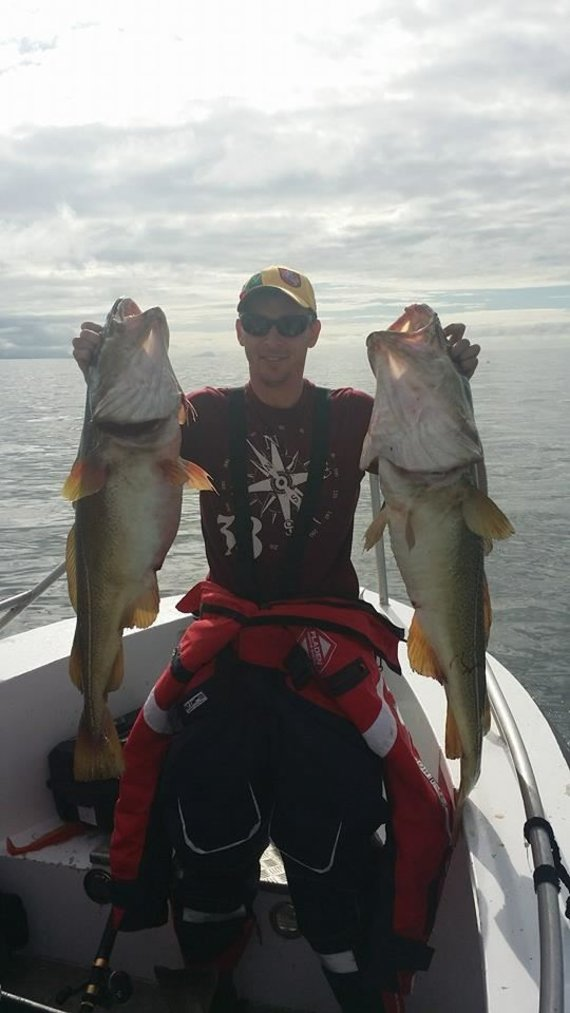 Žvejyba Švedijoje / Gyčio Rinkevičiaus nuotr,