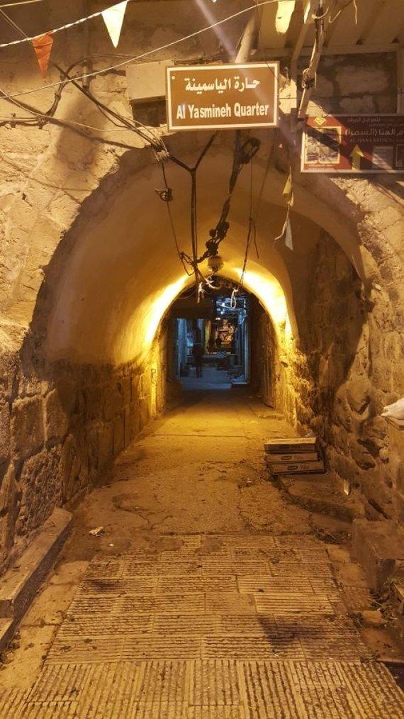 Nabluso senamiestis/Palestina / G.Steikūnaitės asmeninio archyvo nuotr.
