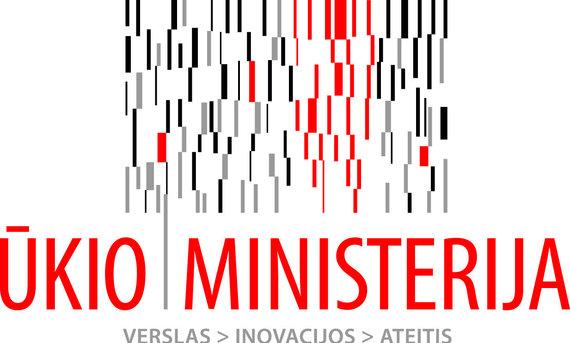 Ūkio ministerijos logotipas