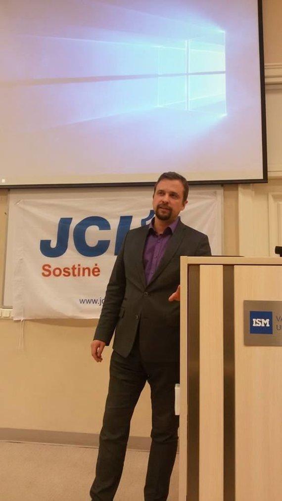 """""""JCI Sostinė"""" nuotr./Audrius Kasinskas"""
