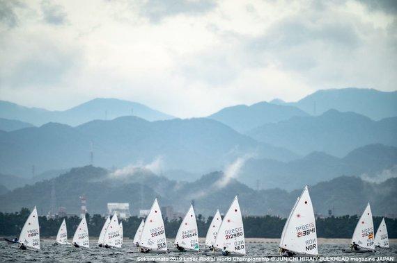 """Junichi Hirai nuotr. /""""Laser Radial"""" jachtų klasės pasaulio čempionatas"""