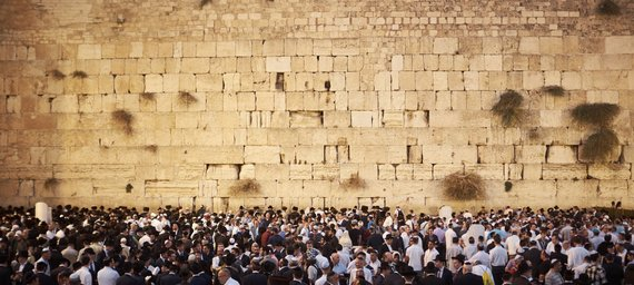 The Wailing Wall or Western Wall in Jerusalem. Photo Skrendu.lt