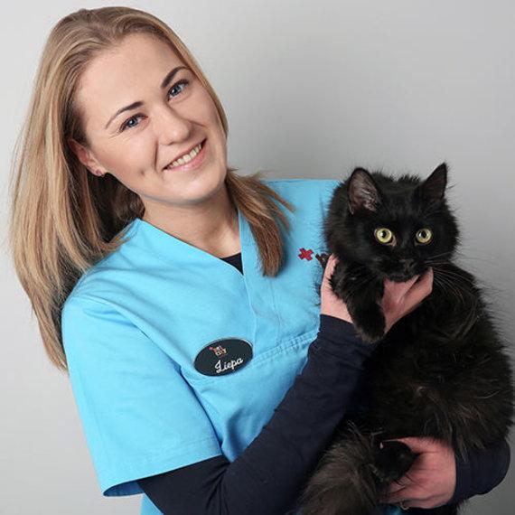 """""""PetCity"""" nuotr./""""PetCity"""" klinikos veterinarijos gydytoja Liepa Krūminytė"""