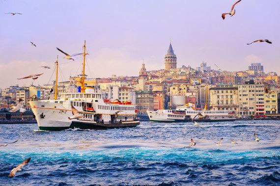 """""""Shutterstock"""" nuotr./Stambulas ir Bosforas, Turkija"""