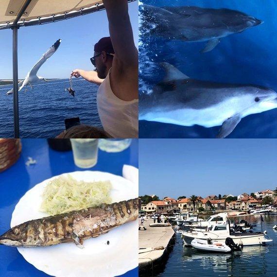 K.Tuminauskaitės nuotr./Išvykos į Hvaro ir Brač salas akimirkos, Kroatija