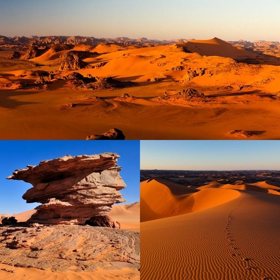 Shutterstock nuotr./Sacharos spalvos, Tin Merzouga, Alžyras
