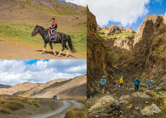 """Kelionių organizatoriaus """"GRŪDA"""" nuotr./Dungeni kanjonas, Mongolija"""