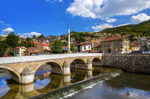 Shutterstock nuotr./Sarajevo tiltas, Bosnija ir Hercegovina