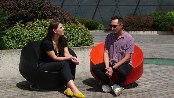 Video stop kadras/Monika Svėrytė ir Orijus Gasanovas