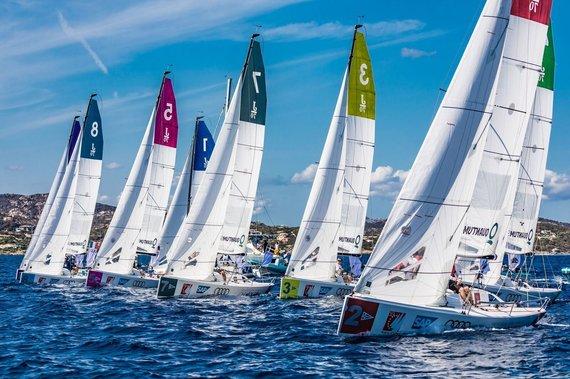 SCL_Lars Wehrmann nuotr./Tarptautinės buriavimo čempionų lygos pusfinalis