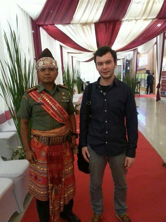 Asmeninio albumo nuotr./Paulius Rudokas Indonezijoje