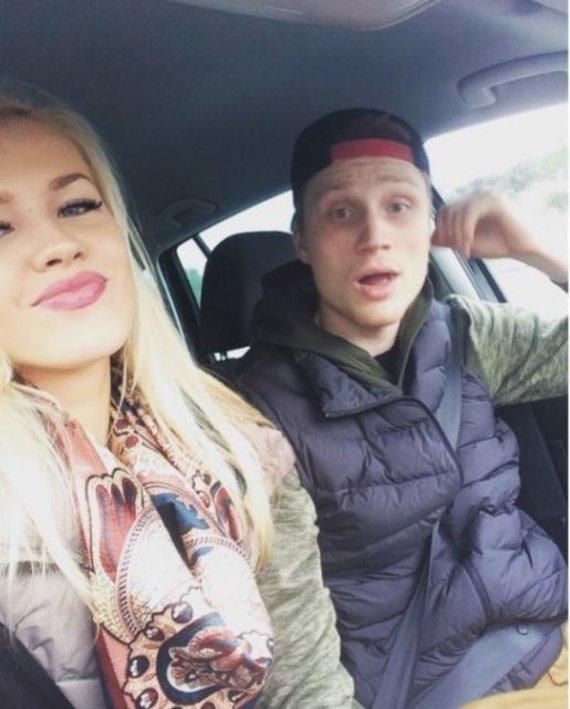 Asmeninio albumo nuotr./Salomėja Karvelytė ir Marius Grigonis
