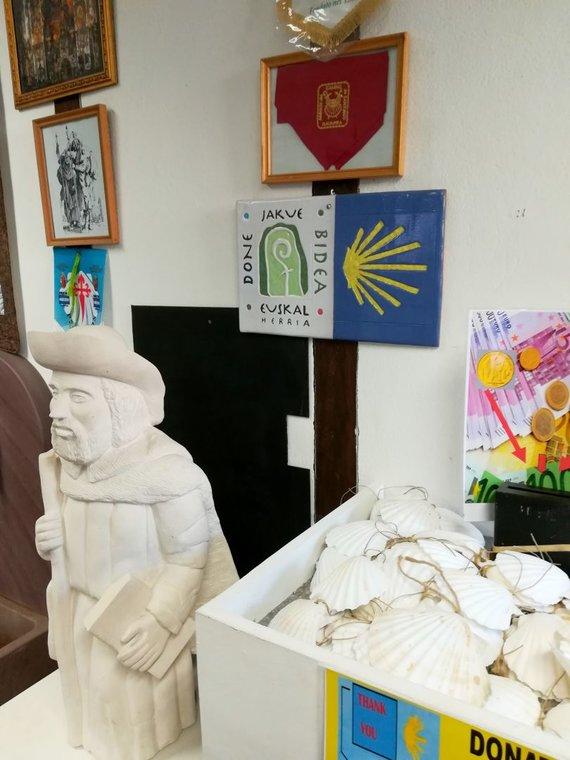 Monikos Svėrytės nuotr./Piligrimų informacijos centre