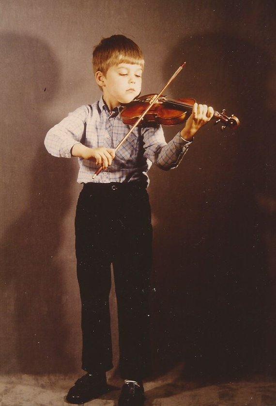 Asmeninio albumo nuotr./Davidas Garrettas 6-erių